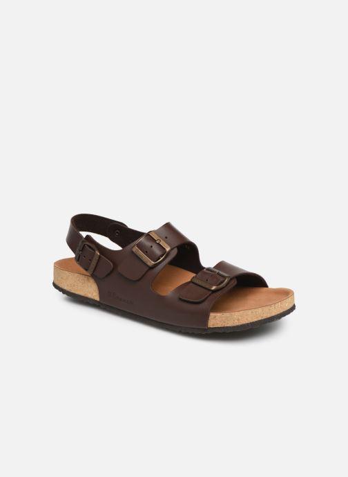 Sandales et nu-pieds El Naturalista Waraji NE51 Marron vue détail/paire