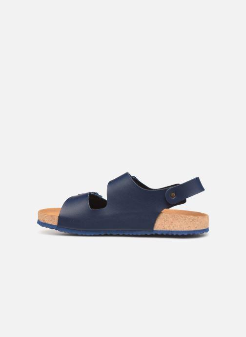 Sandals El Naturalista Waraji NE51 Blue front view