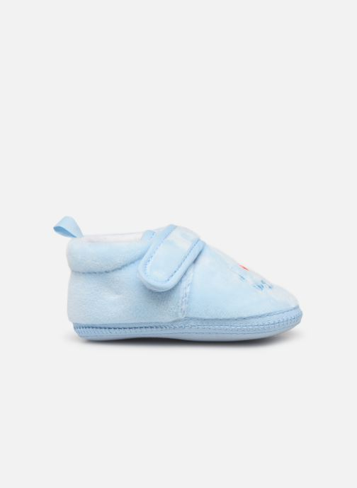 Pantuflas Sarenza Wear Chaussons bébé scratchs Azul vistra trasera