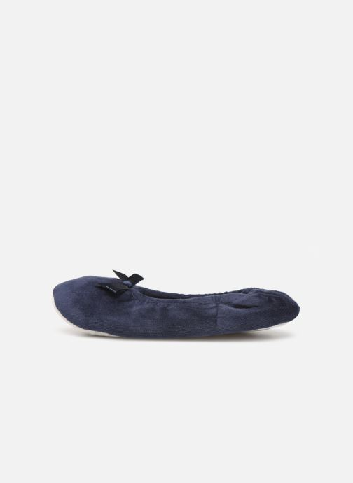 Slippers Sarenza Wear Chaussons fille balerines Blue front view