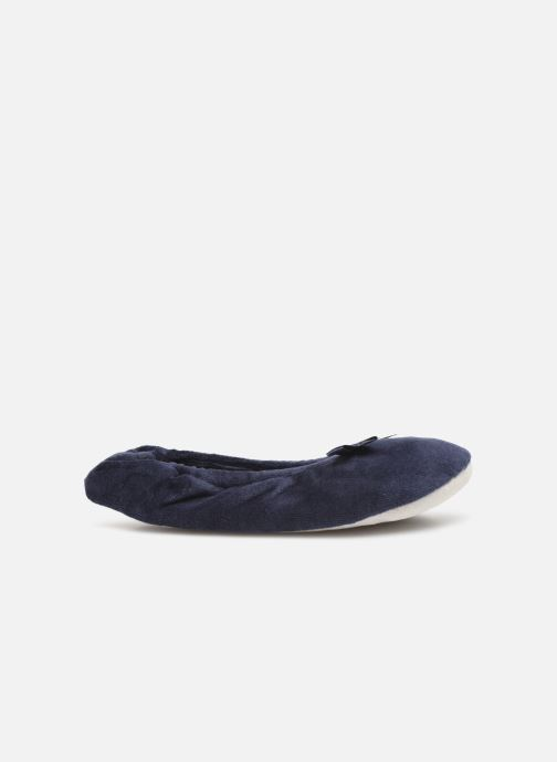 Slippers Sarenza Wear Chaussons fille balerines Blue back view