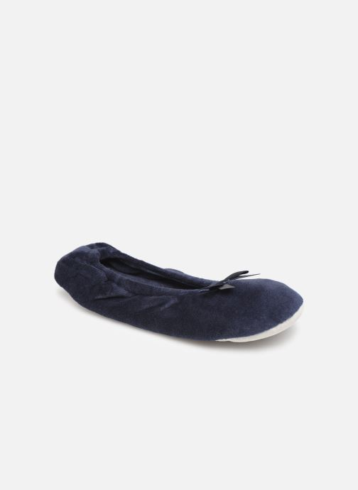 Slippers Sarenza Wear Chaussons fille balerines Blue detailed view/ Pair view