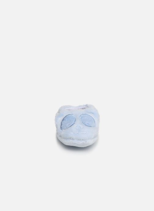 Slippers Sarenza Wear Chaussons bébé animal Blue model view