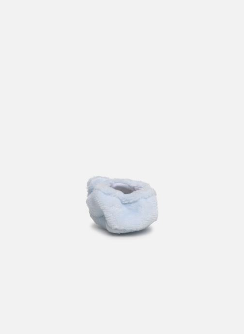 Slippers Sarenza Wear Chaussons bébé animal Blue view from the right