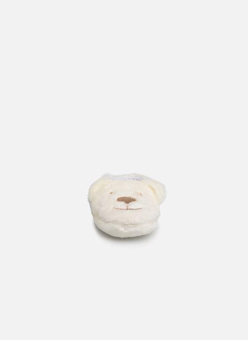 Slippers Sarenza Wear Chaussons bébé animal White model view