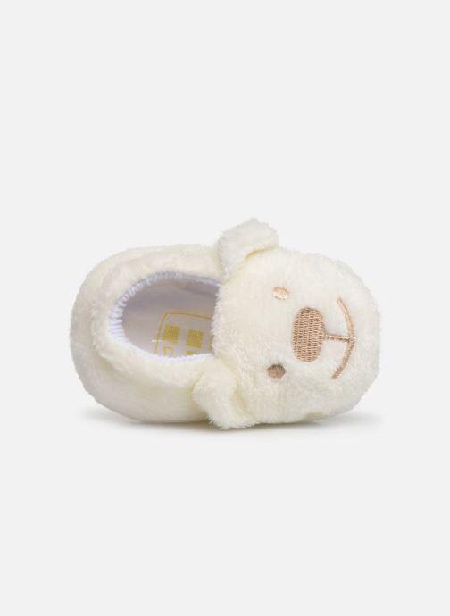 Hjemmesko Sarenza Wear Chaussons bébé animal Hvid se fra venstre
