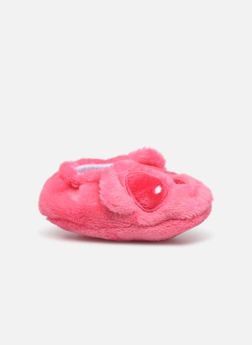 Chaussons Sarenza Wear Chaussons bébé animal Rose vue derrière