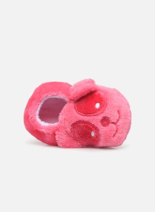 Chaussons Sarenza Wear Chaussons bébé animal Rose vue gauche