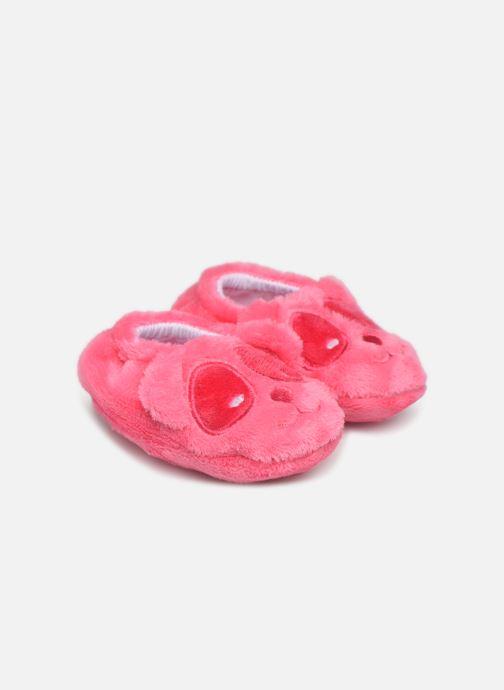 Hjemmesko Sarenza Wear Chaussons bébé animal Pink detaljeret billede af skoene