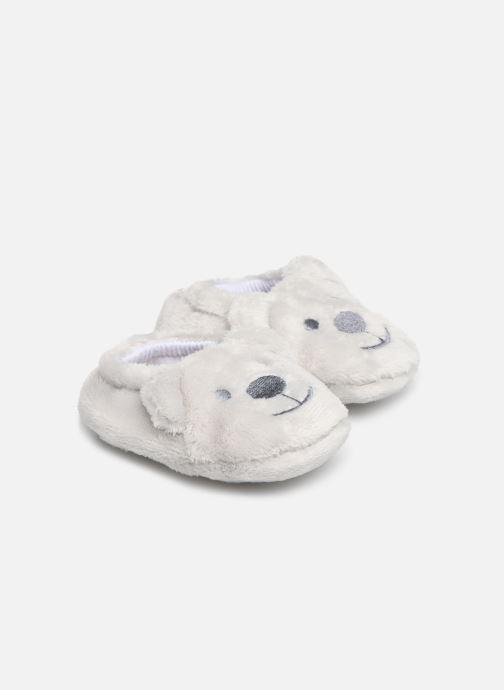 Chaussons Sarenza Wear Chaussons bébé animal Gris vue détail/paire