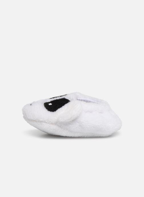 Pantoffels Sarenza Wear Chaussons bébé animal Wit voorkant