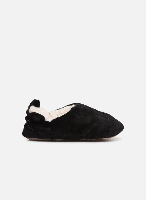 Pantoffels Sarenza Wear Chaussons fourrés femme Zwart achterkant