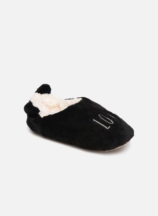 Chaussons Sarenza Wear Chaussons fourrés femme Noir vue détail/paire