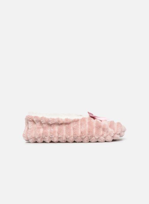 Hausschuhe Sarenza Wear Chaussons fourrés femme rosa ansicht von hinten