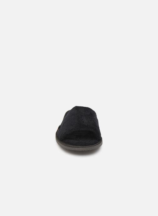 Chaussons Sarenza Wear Mules cocooning femme Noir vue portées chaussures