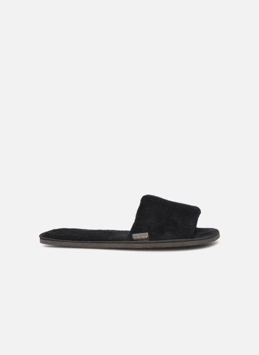Pantoffels Sarenza Wear Mules cocooning femme Zwart achterkant