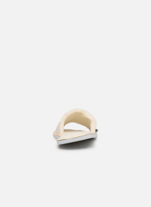 Chaussons Sarenza Wear Mules cocooning femme Blanc vue droite