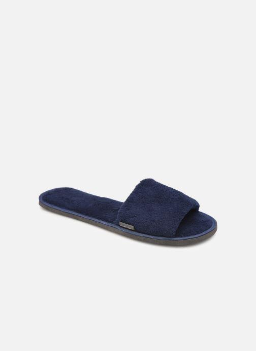Chaussons Sarenza Wear Mules cocooning femme Bleu vue détail/paire