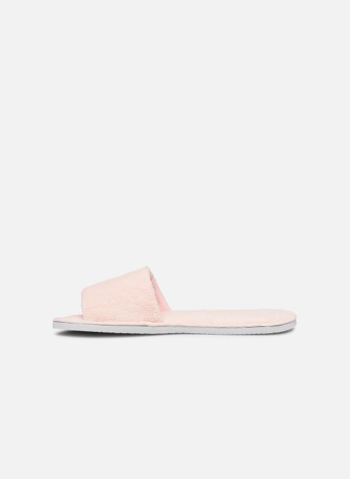 Chaussons Sarenza Wear Mules cocooning femme Rose vue face