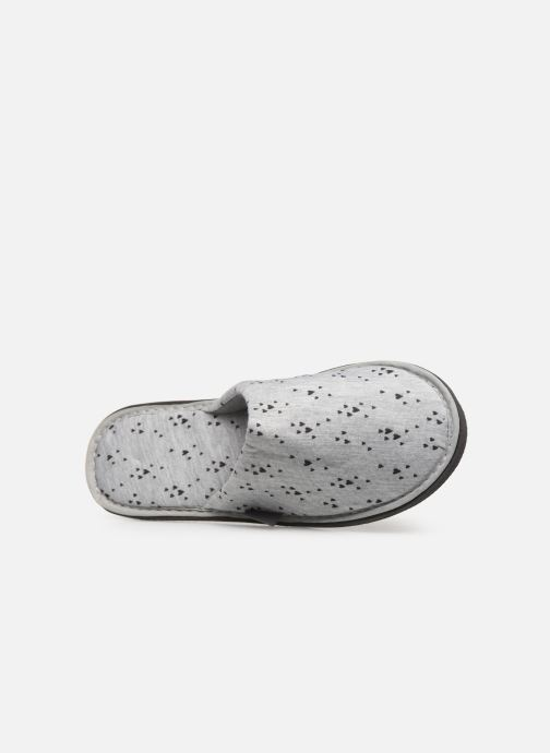 gris Sarenza Femme Wear Mules Chez Chaussons IFwzxrqEF