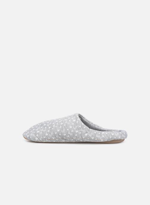 Pantoffels Sarenza Wear Chaussons mules femme Grijs voorkant