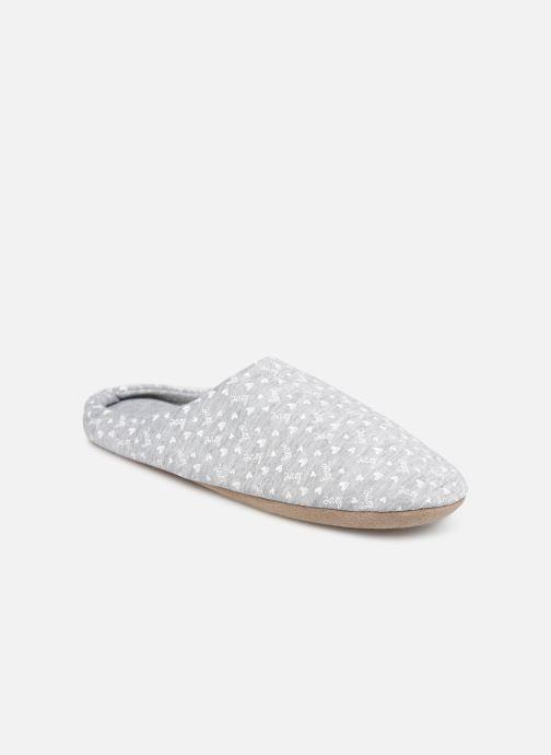 Pantoffels Sarenza Wear Chaussons mules femme Grijs detail