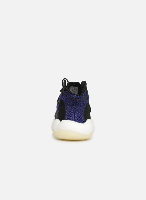 Baskets adidas originals Crazy BYW W Bleu vue droite
