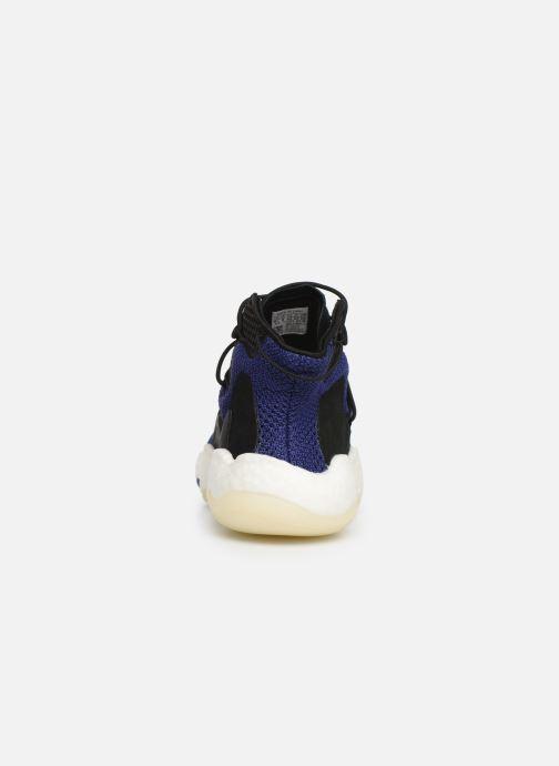 Baskets adidas originals Crazy BYW Bleu vue droite