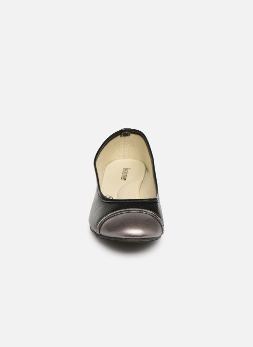 Ballet pumps Isotoner Escarpin sans nœud Black model view