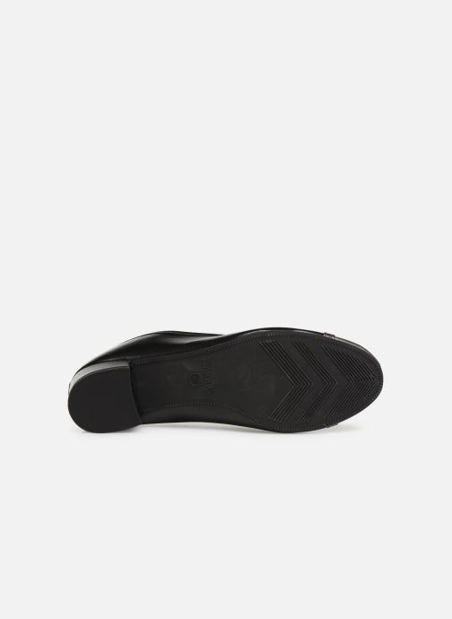 Ballet pumps Isotoner Escarpin sans nœud Black view from above