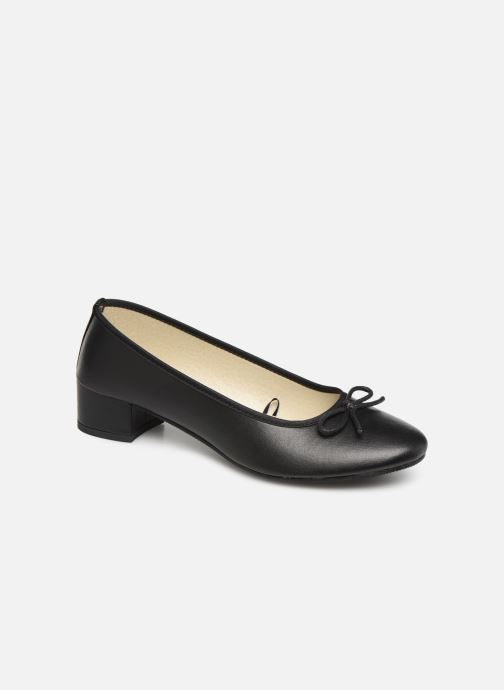 schwarz Escarpin Bicolore Isotoner Ballerinas 373084 68dE6qPx