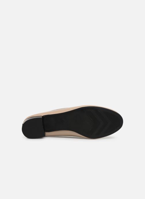 Ballet pumps Isotoner Escarpin bicolore Beige view from above