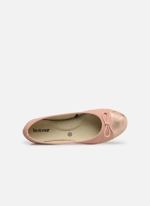 373087 Ballerinas rosa Isotoner Ballerine Irisée YTwTzq