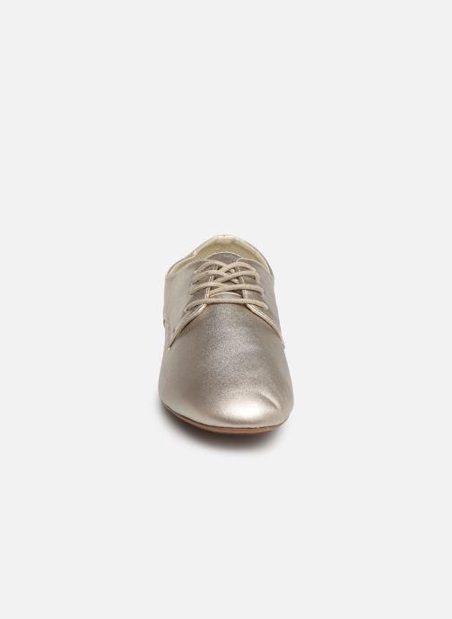 Chaussures à lacets Isotoner Derby Or et bronze vue portées chaussures