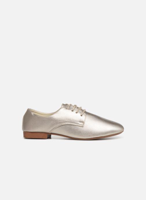 Chaussures à lacets Isotoner Derby Or et bronze vue derrière