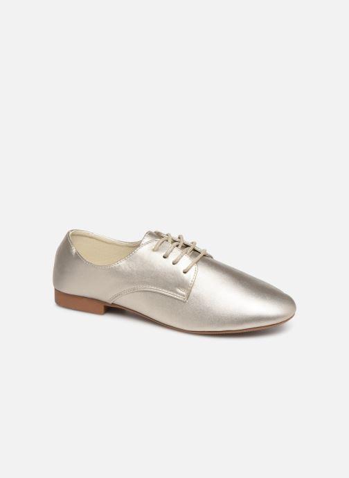 Chaussures à lacets Isotoner Derby Or et bronze vue détail/paire