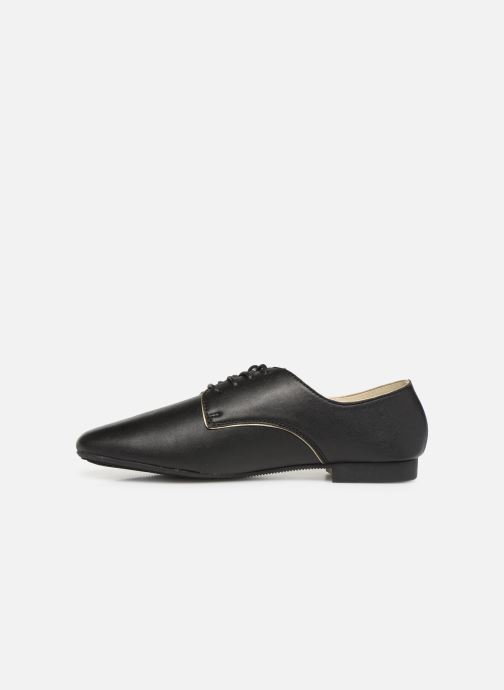 Lace-up shoes Isotoner Derby Black front view