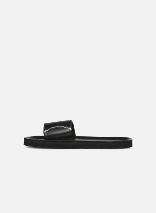 Sandalen Isotoner Mule moulée Zwart voorkant