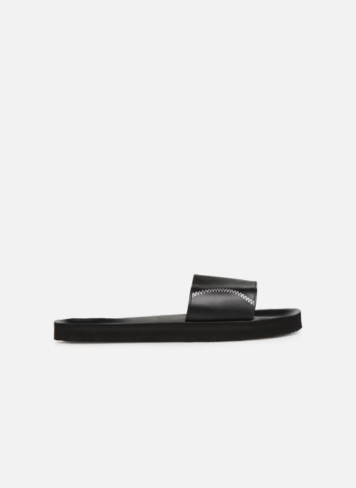 Sandals Isotoner Mule moulée Black back view
