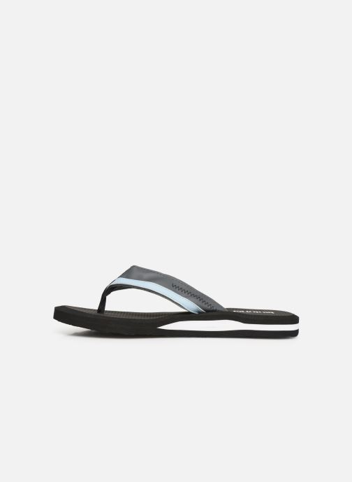 Flip flops Isotoner Tong sport Black front view