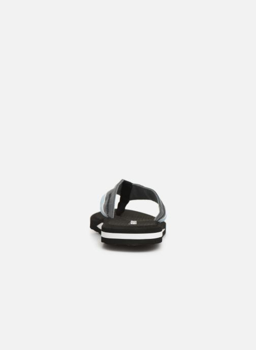 Flip flops Isotoner Tong sport Black view from the right