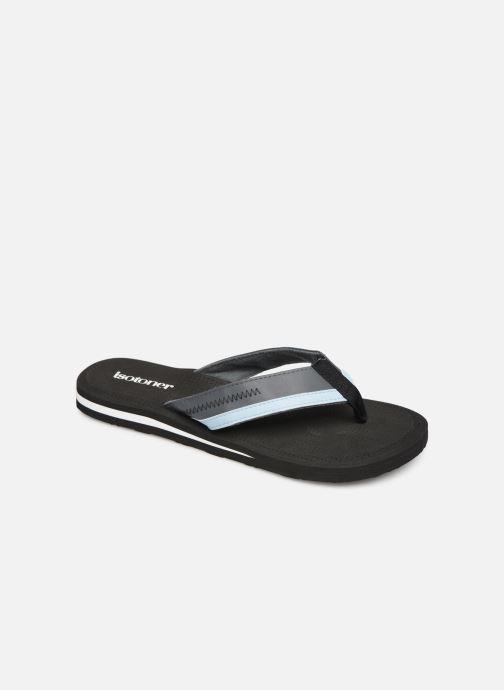 Flip flops Isotoner Tong sport Black detailed view/ Pair view