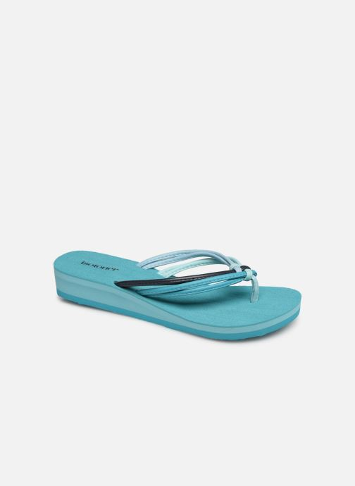 Flip flops Isotoner Tong yoga mutlti-brides Blue detailed view/ Pair view