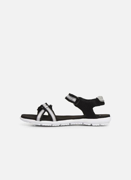 Sandales et nu-pieds Isotoner Sandale sport confort Noir vue face