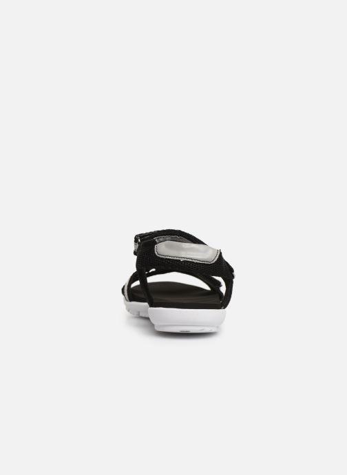 Sandales et nu-pieds Isotoner Sandale sport confort Noir vue droite