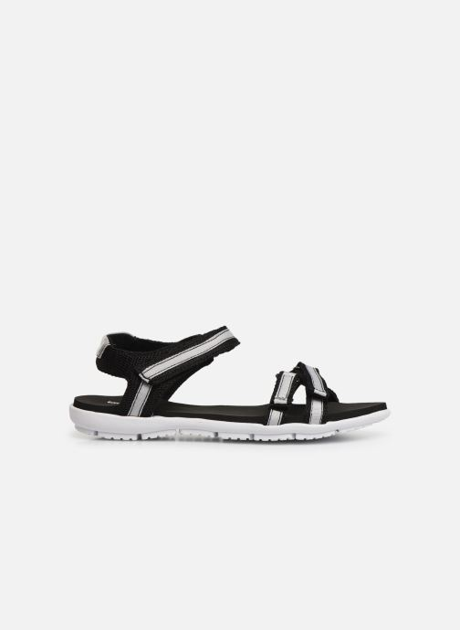 Sandales et nu-pieds Isotoner Sandale sport confort Noir vue derrière