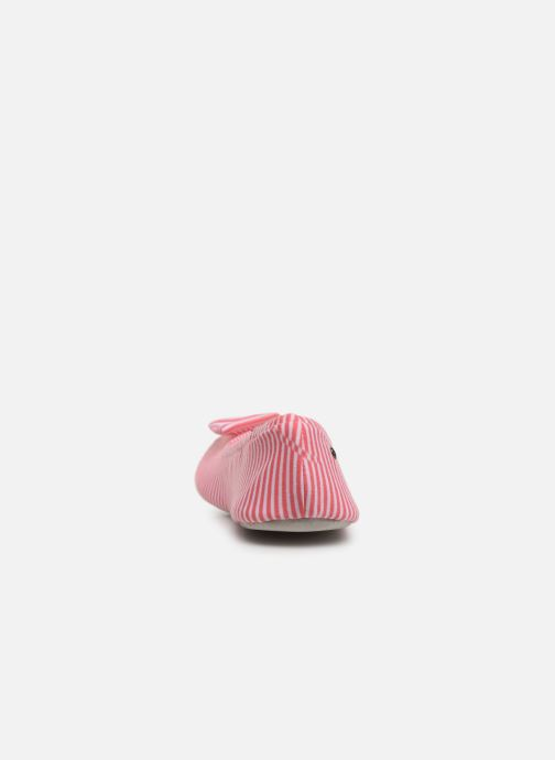 Isotoner Ballerine Grand Nœud (rosa) - Hausschuhe 6YKO6oBF