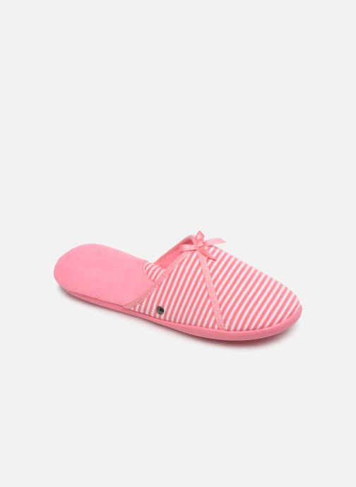 Pantofole Isotoner Mule jersey semelle ergonomique Rosa vedi dettaglio/paio