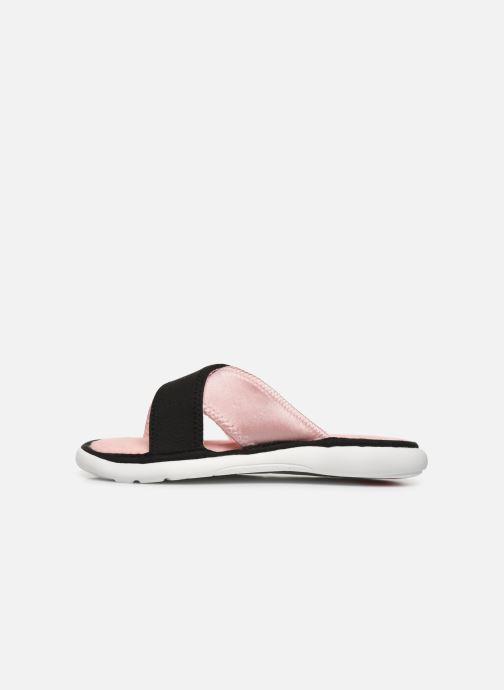 Chaussons Isotoner Sandale jersey semelle ergonomique ZEN flex Rose vue face