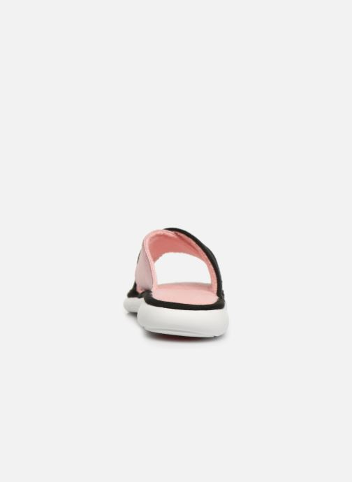 Slippers Isotoner Sandale jersey semelle ergonomique ZEN flex Pink view from the right
